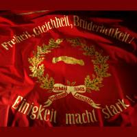 Sie ist der Stolz der SPD - Die Fahne vom Juni 1863